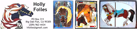 Holly Foiles Stained Glass Art